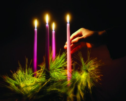Advent Pink Candle