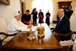 Trump and Francis