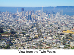 San Francisco from Twin Peaks web
