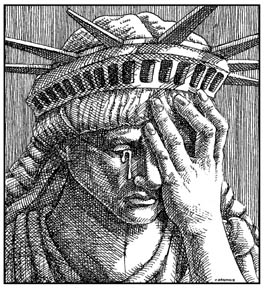 Image result for facepalm statue of liberty