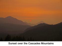 Cascades Sunset web
